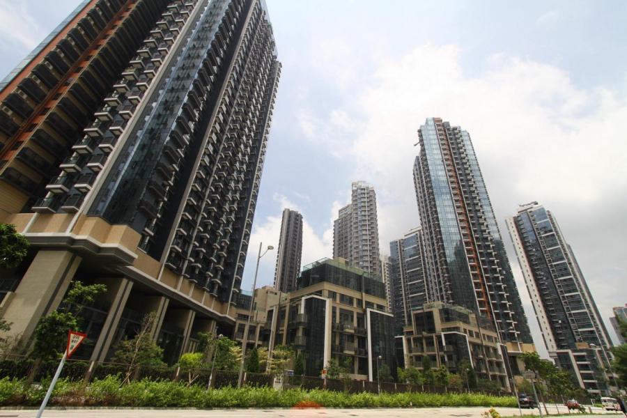新供應重鎮啟德發展區,因區內的社區設施配套仍在改善中,故區內租金升勢緩慢。