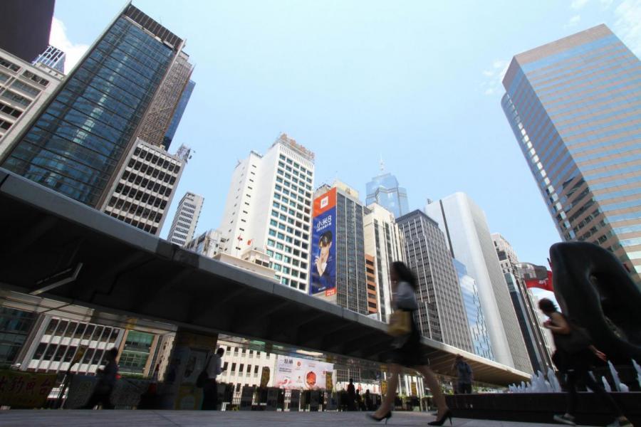 在貿易戰下,下半年核心區甲廈的升勢料將放緩。