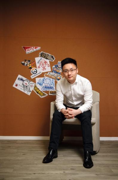 香港電子競技(Hong Kong Esports)創辦人鍾培生。