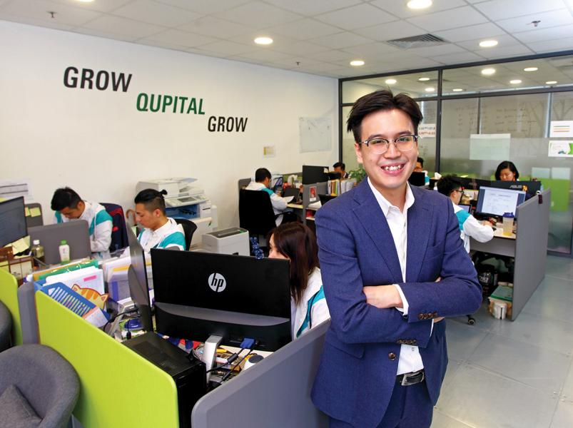 黃永東指出,Qupital團隊向夢想出發,矢志成為本港另一間獨角獸企業。