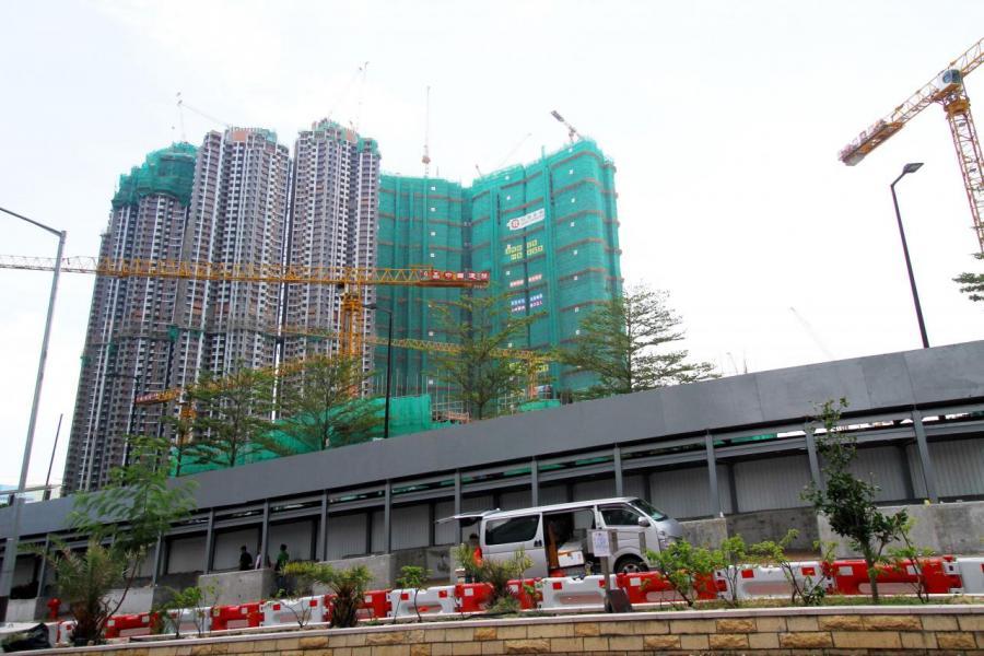 日出康城6期是首個政府新房策出爐後獲批預售的樓花項目。