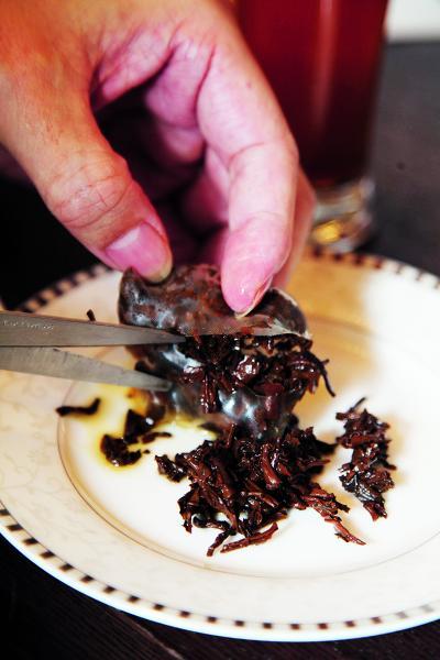 品牌堅持用原片茶葉煉製茶包。