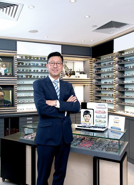 Hoya Lens Hong Kong 董事總經理關國強