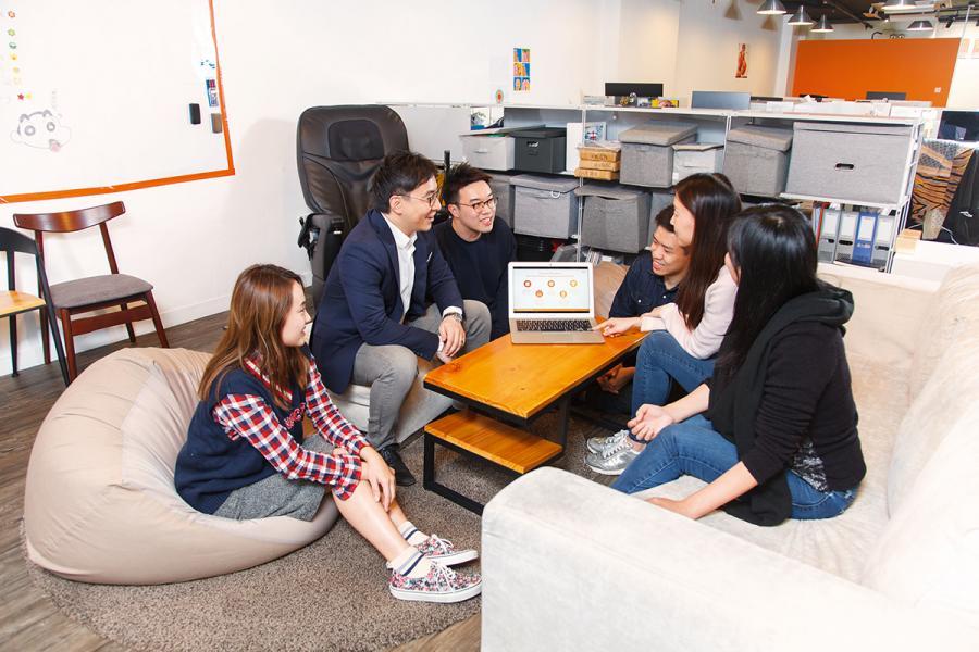 陳明發表示,公司業務發展多元,十分重視人才培訓,讓年輕人了解自己的長處。