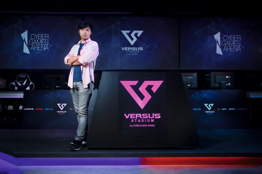 電競統籌公司Cyber Games Arena(CGA)創辦人周啟康。