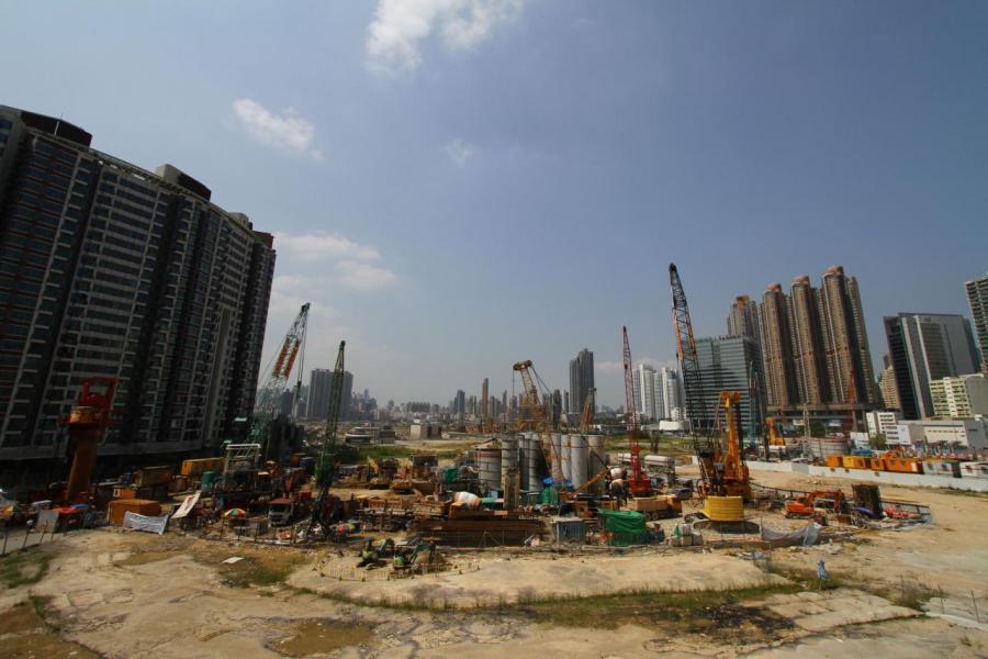 啟德的3幅地皮成為本季焦點,其中一幅住宅地估值更高達168億。