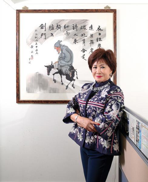 香江文化交流基金會主席江素惠。