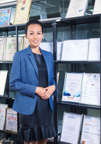 瑋基國際發展董事長 馮雯熙(Christine)