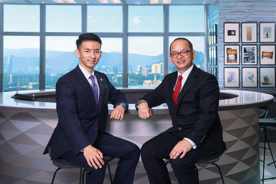 天一團隊區域總監Mr.James Tseung和其公子Mr. Darren Tseung
