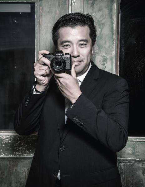 富士攝影器材董事總經理孫道弘(Stanley)。