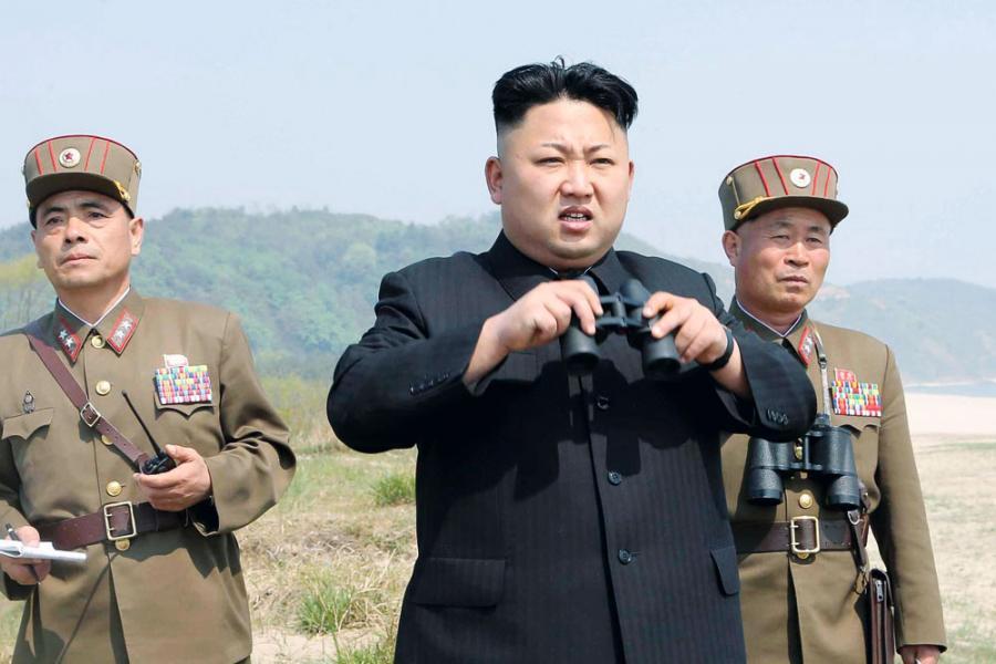 北韓屢屢試射導彈,造成擦槍走火的地緣政治危機。