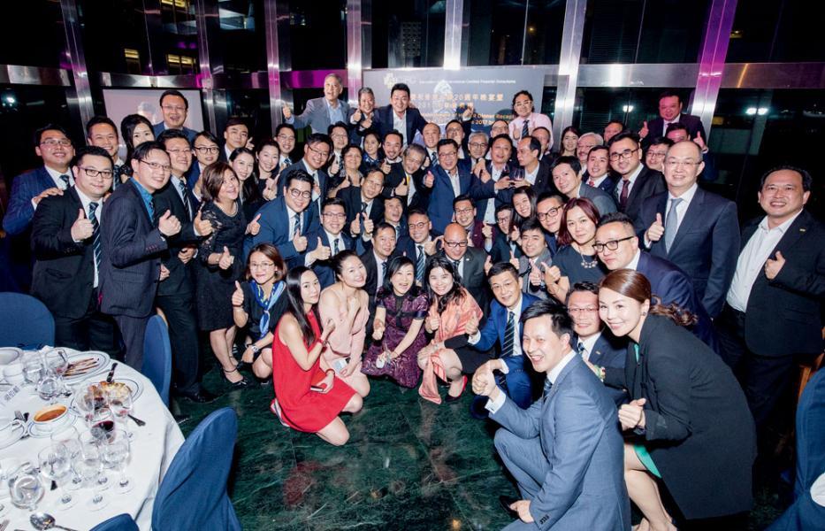 AICFC於7月5日晚上假西洋會所Club Lucitano舉行「慶祝香港回歸20週年晚宴暨2017年畢業典禮」。