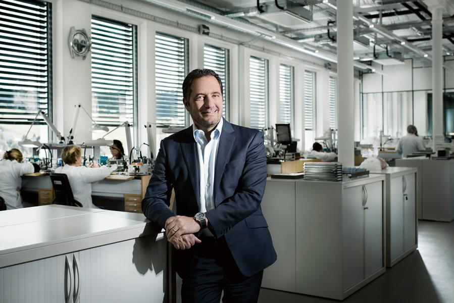 Zenith全球行政總裁:Julien Tornare