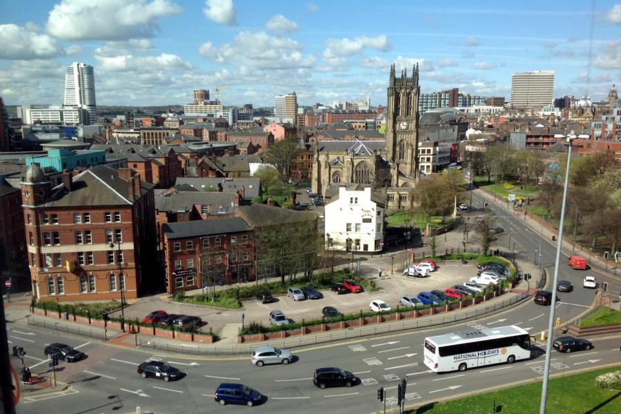 里茲是英國北方經濟引擎計畫的組成部分,其經濟輸出超過600億英鎊,佔全國總量的5%。