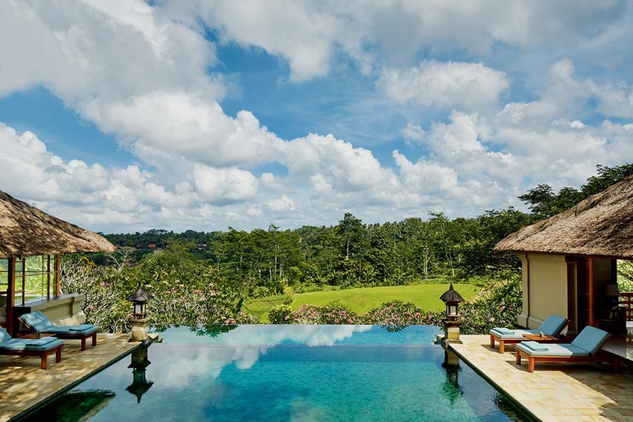 只要身處峇里島,就會有海天一色的美麗景致。