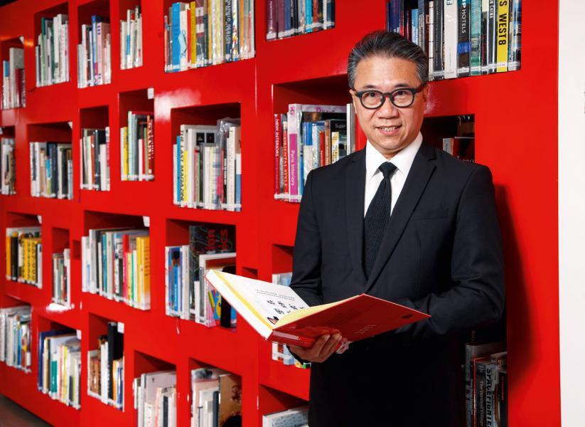 香港設計中心主席嚴志明。