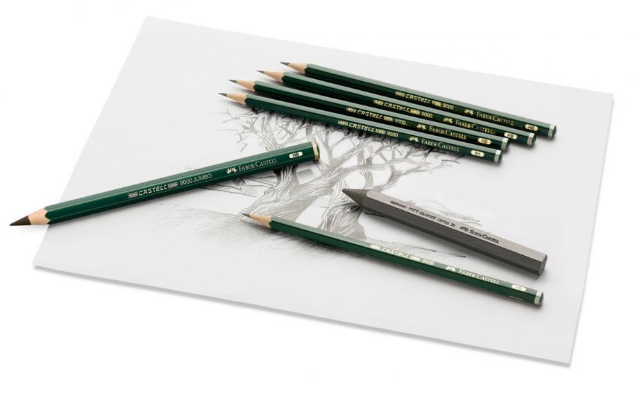 藝術界地位超然的Vincent van Gogh(梵高)曾用過的Castell 9000素描鉛筆。