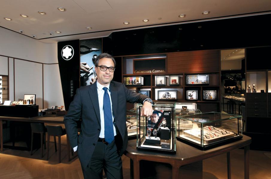 Montblanc新任總裁Nicolas Baretzki。