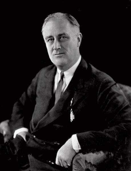 20世紀初美國奉行重商主義,直到羅斯福總統執政後有所改變。