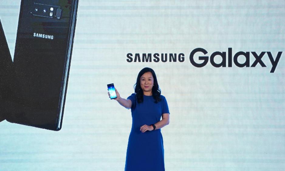 三星電子香港資訊科技及電訊產品業務主管及副總裁趙依音