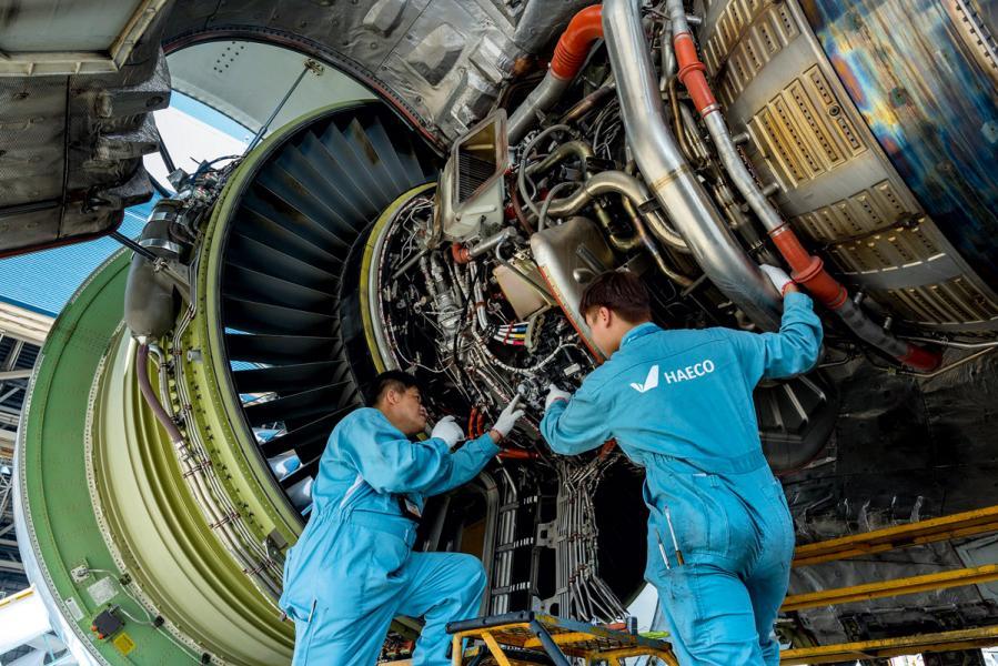 民航事業的飛速發展也促進了飛機維修的需求。