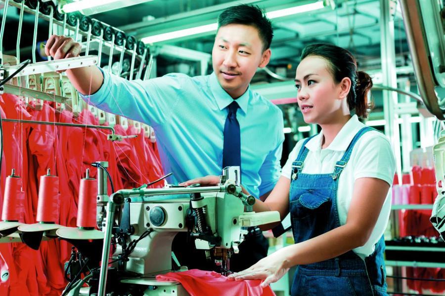 今天的深圳廠房工人已非低技術勞工,他們大都是技工級人才。