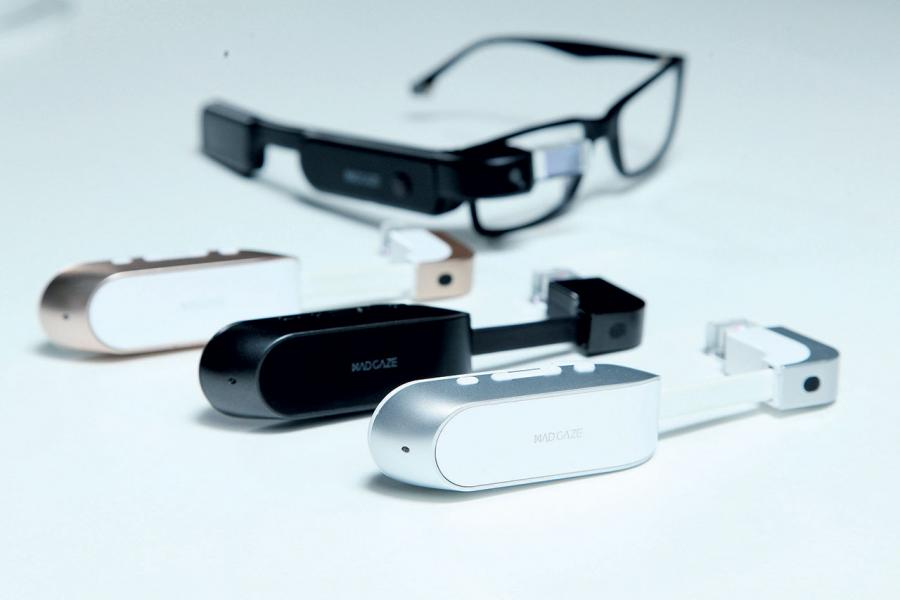 Mad Gaze可以作為配件裝置,直接配戴於眼鏡之上。