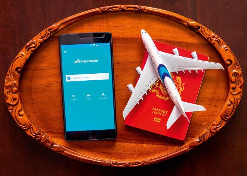 Skyscanner為近年最成功的旅遊App,全球每月用戶數量已高達6000萬人。