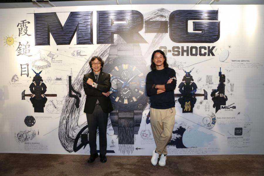 (左)「G-SHOCK之父」伊部菊雄 (Mr. Kikuo Ibe) 與「Figure教父」Michael Lau