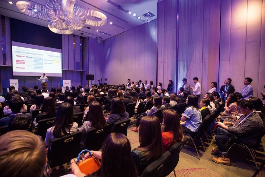 Google於上月舉行的Bootcamp,以講座及展示活動加強企業的數碼行銷實力。