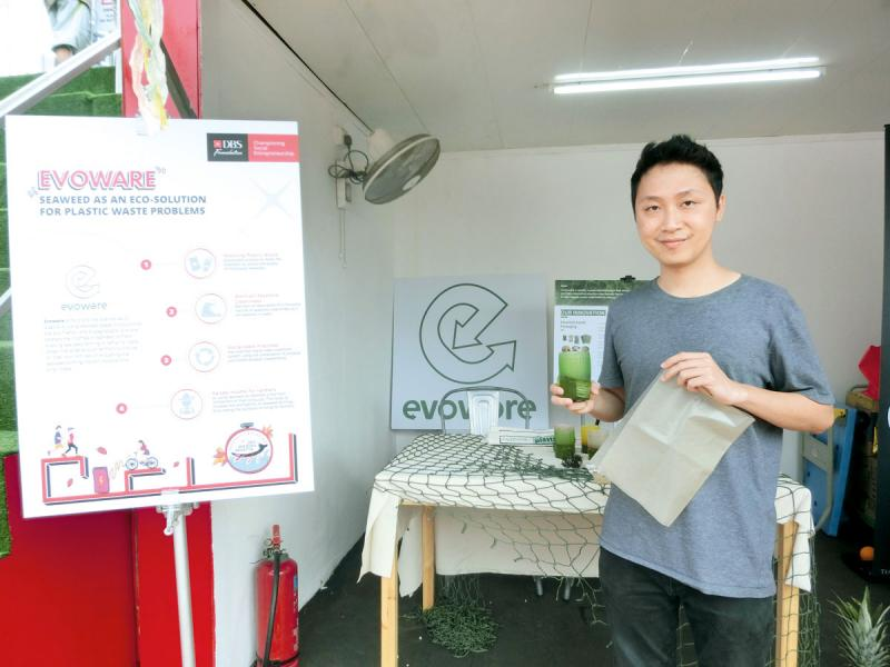 Evoware創辦人David Christian指,環保是一項大型工作,必須與各持份者合作才能成功。