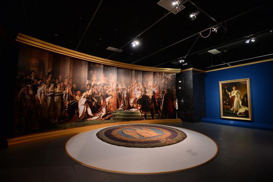 年的「法國五月」,帶來了羅浮宮展覽——《羅浮宮的創想——從皇宮到博物館的八百年》。