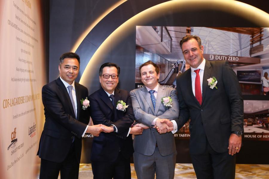 中免集團與拉格代爾的管理層,促成兩強聯手進軍香港市場。