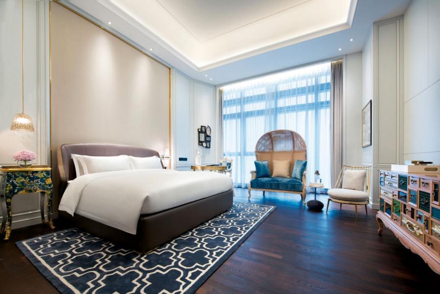 在中國的酒店內也可找到歐洲的色彩。