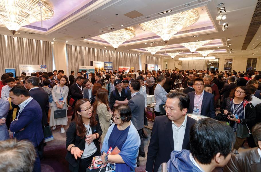 論壇的展覽區展示了協助企業數碼轉型的最先進科技,當中設有六個金蝶展位,分別介紹了雲端ERP、集團財務、智能生產、人力資源、電子商務及餐飲業各個範疇的解決方案,並設有多個合作夥伴的展位。
