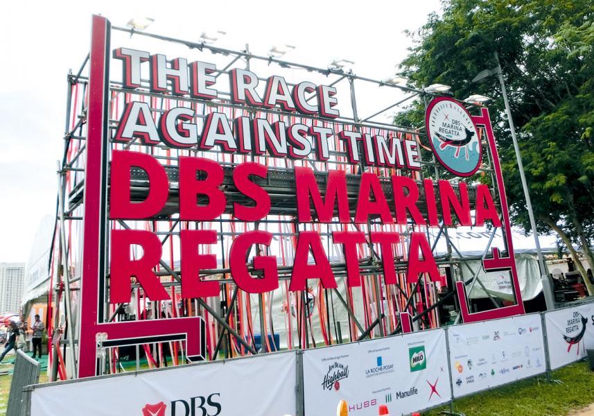 星展集團在新加坡舉辦的「DBS Marina Regatta 2019」,融入不少可持續發展的元素。