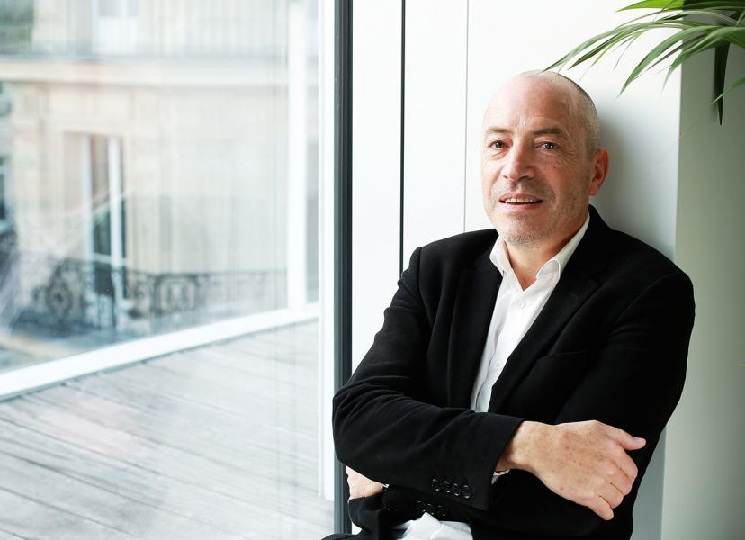 三位創辦人之一,主要負責設計方面的Emmanuel Nardin。