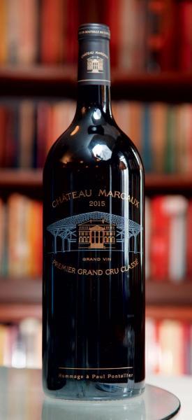 Château Margaux Grand Vin 2015,以金漆記念酒莊200年的歷史。