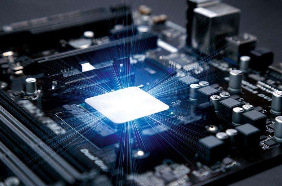 5G 離不開芯片研發,這方面美國仍保持霸主地位。
