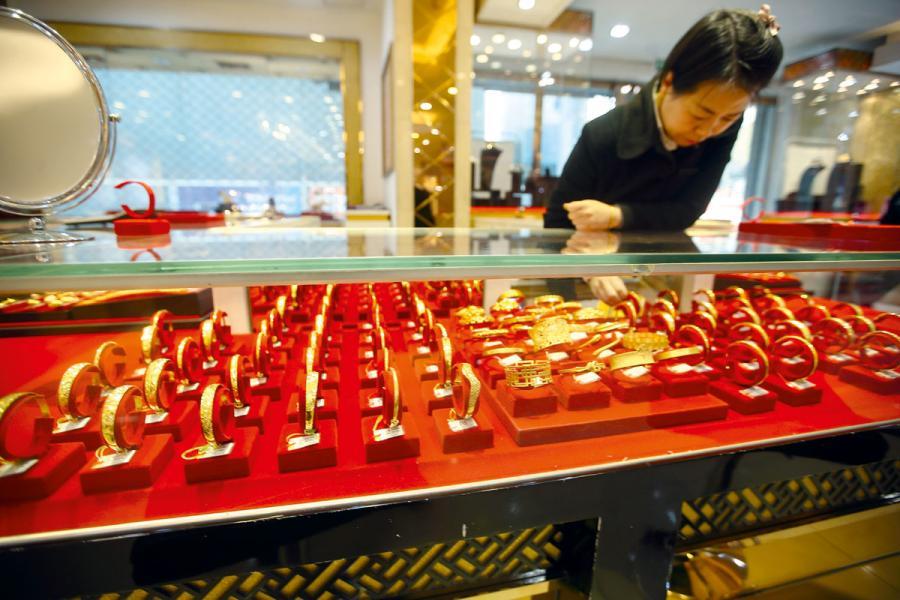 中國是全球最愛黃金的國家。