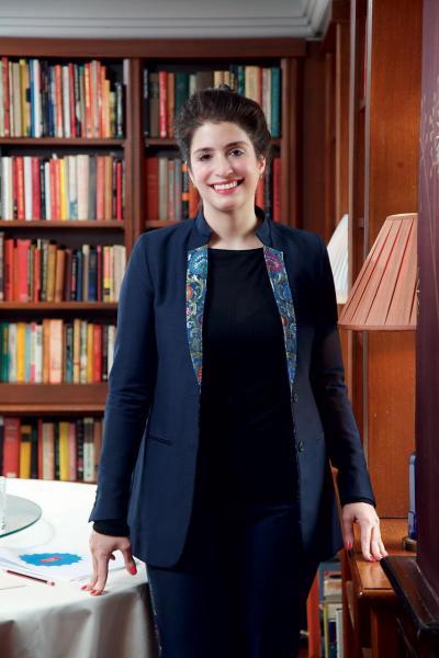 瑪歌酒莊副總經理兼酒莊莊主女兒Alexandra Petit-Mentzelopoulos。