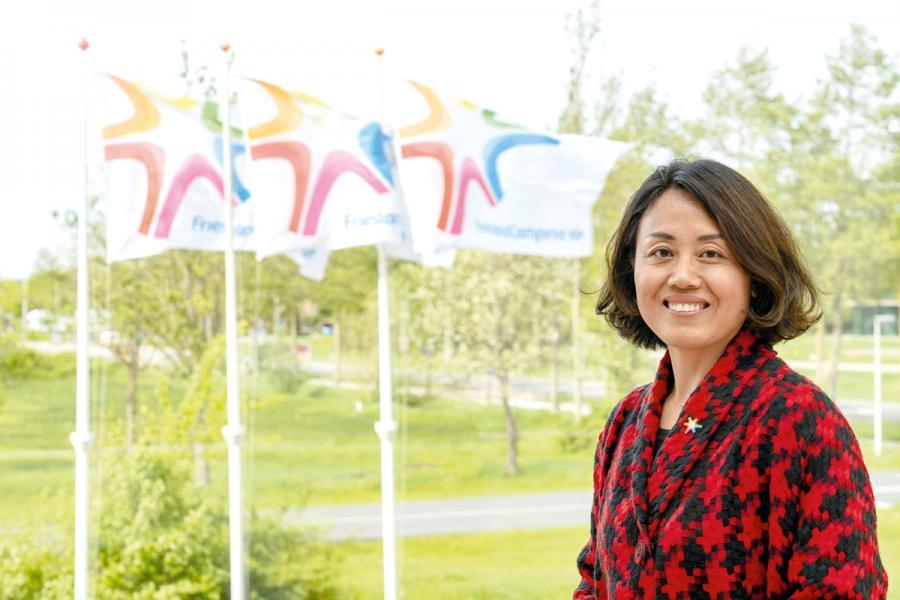 菲仕蘭(香港)董事總經理賀亞軍剛在5月初上任。