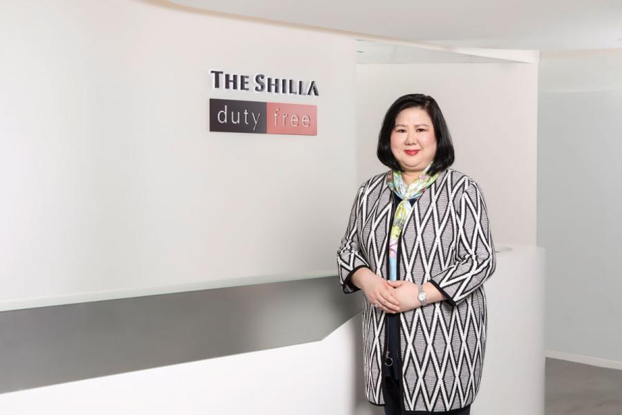 新羅旅遊零售香港有限公司董事總經理胡淑婉。