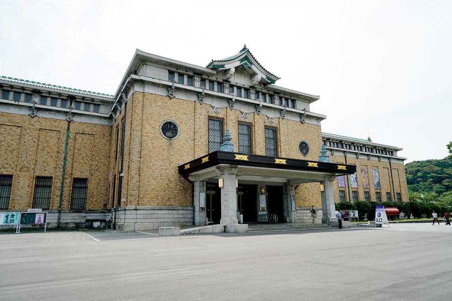 京都市美術館外觀。