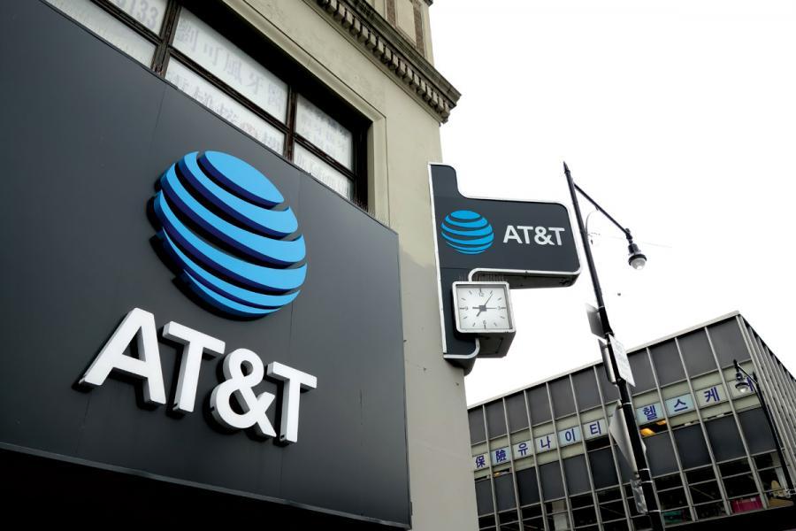 美國AT&T 發布5G 商用消息,惜未能引起熱 烈反響。