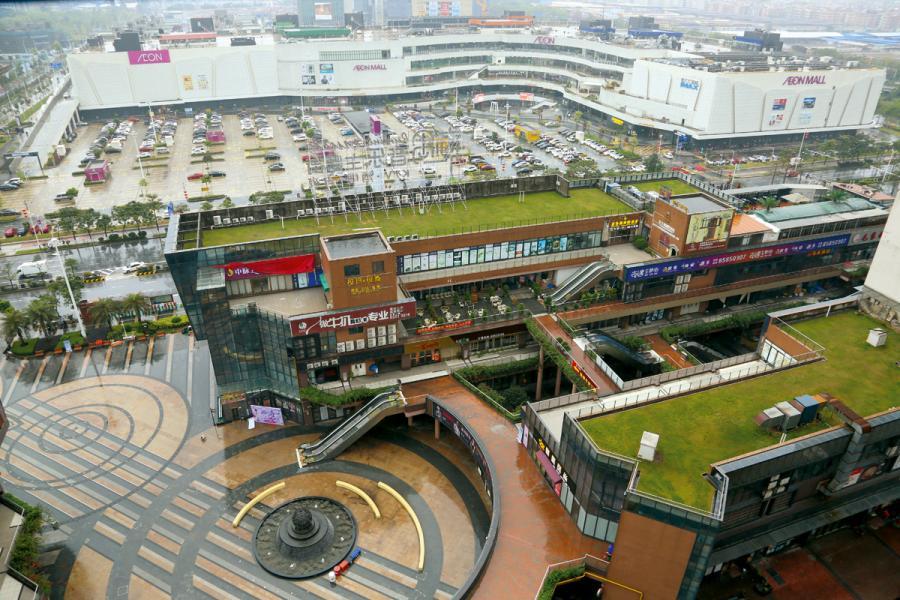 廣佛智城五大生態圈相互交融。