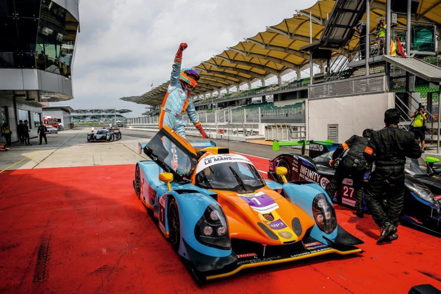 去年改為參加亞洲勒芒短途賽中的LMP3組別,並在第一回合中取得冠軍。