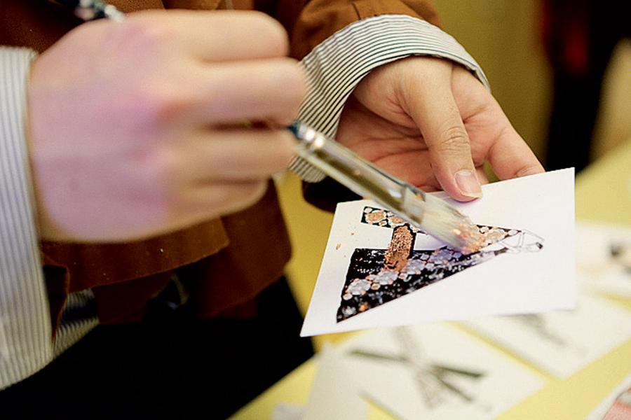 大會特別請來插畫家,呈現具有創意與藝術氣質的體驗。