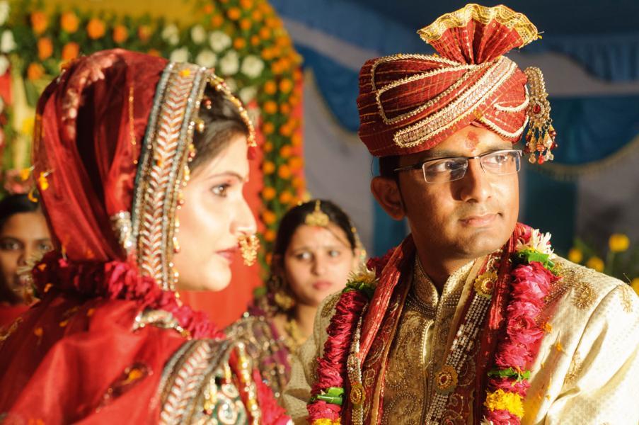 印度國民對黃金的癡迷不下於中國,黃金是非 常重要的婚禮必需品。