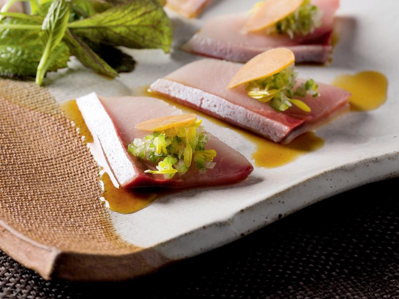 來到Zuma,當然要吃著名的Sashimi了。